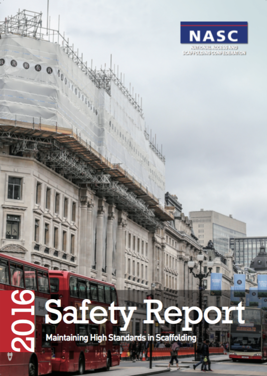 2016 Safety Report Cover
