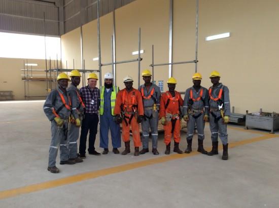 Dave Mosley Nigeria Cisrs Simian Centre
