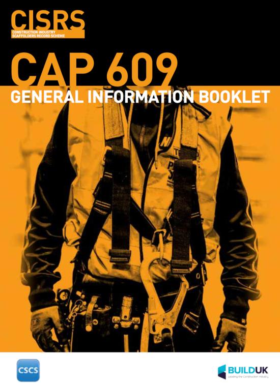Cap 609 Cover