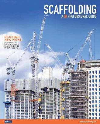 Scaffolding Guide Magazine Cover