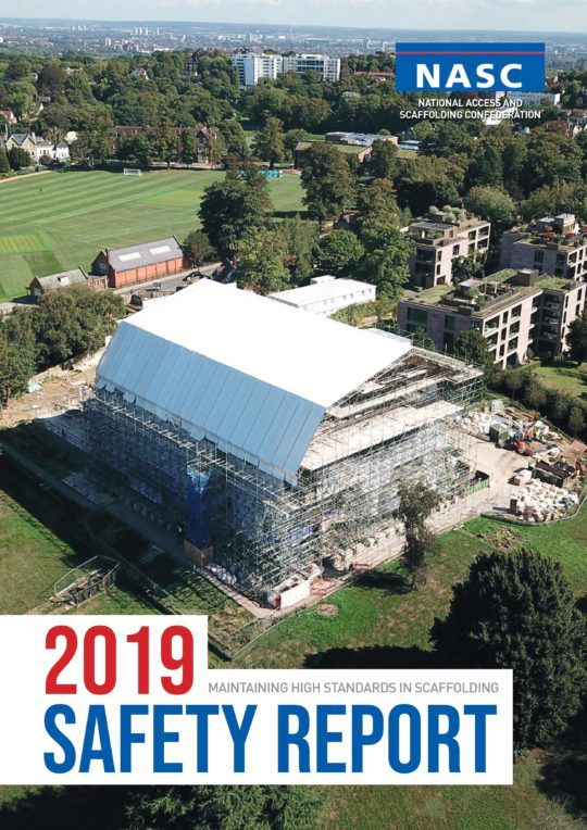 Safety Report 2019 Front Cover